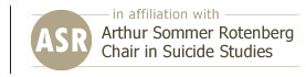 ASR Chair in Suicide Studies